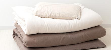 寝具のサブスクリプション(レンタル)