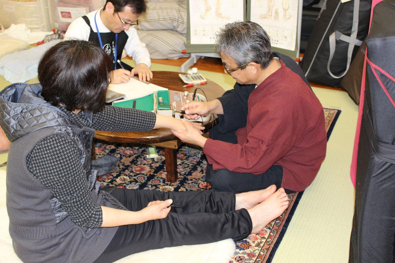 ….. 冷えている人続出!! 三田村先生の健康教室のご報告。