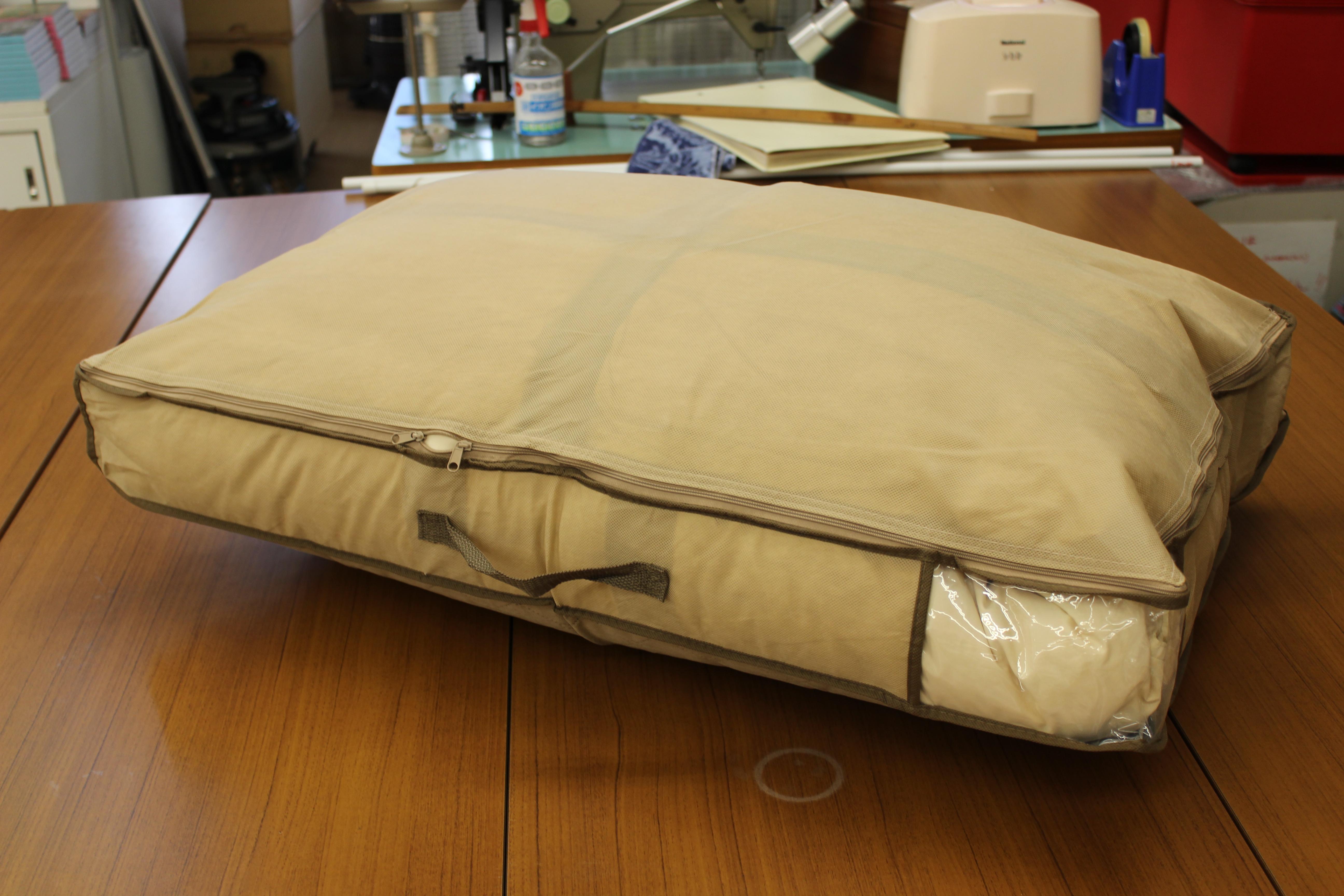 布団の収納場所に困っています。良い収納アイデアがあれば教えてください。